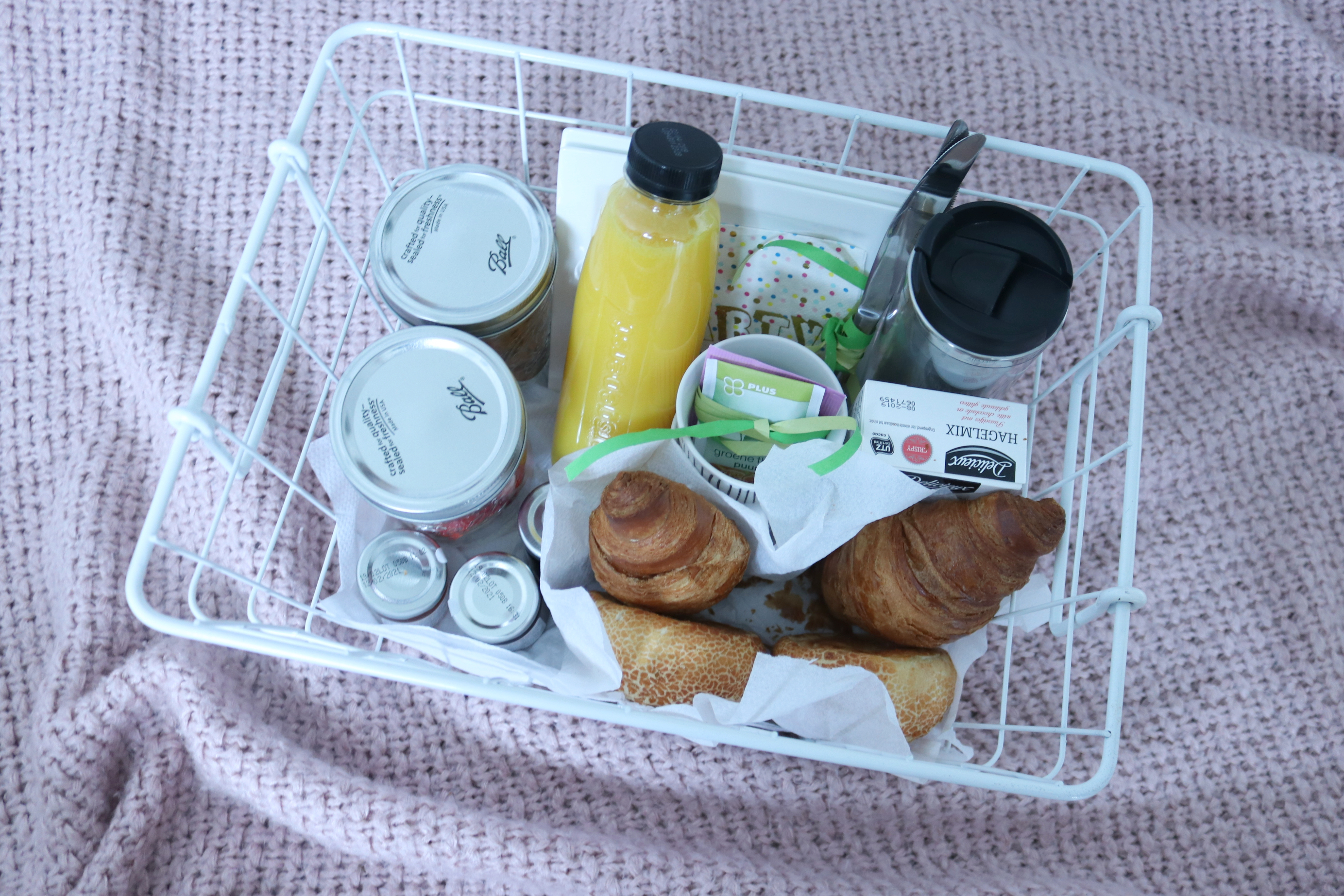 Cadeautip: ontbijtmandje, Cadeautip, ontbijtmandje, ontbijt op ed, verjaardag cadeautip,