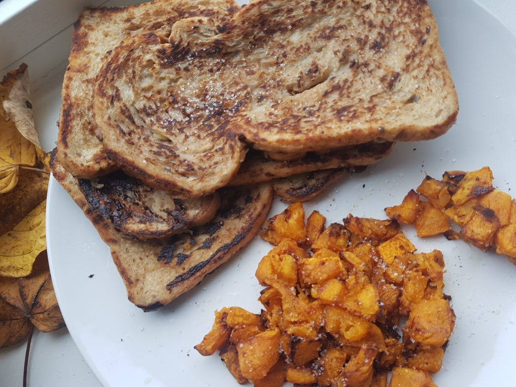 Recept Pumpkin spice kruiden, pumpkin spice, pumpin spice wentelteefjes,
