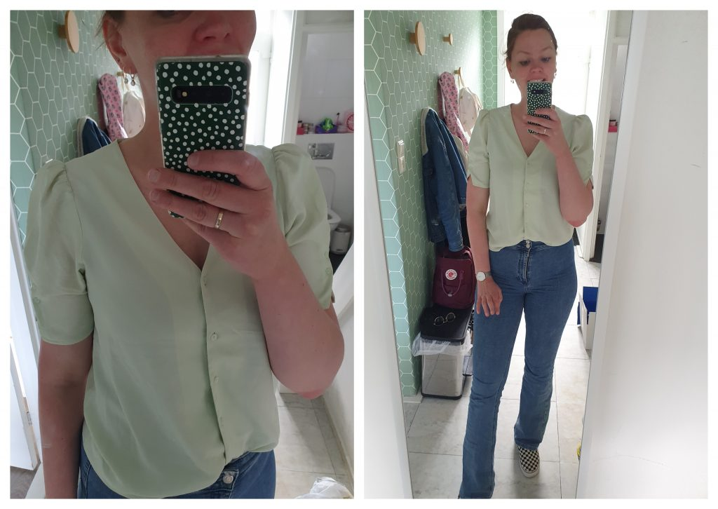 tweedehands outfit, outfit of the day, OOTD, tweedehands outfit,